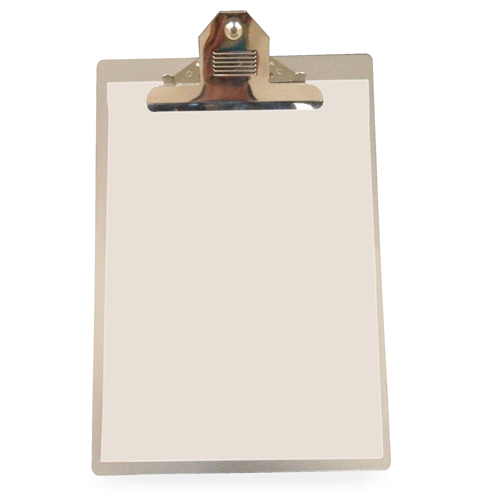 Aluminum Clipboard With Heavy Duty Clip