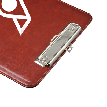 Leather Writing Clip Pad