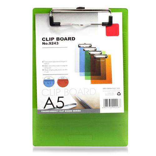 Transparent Ruler Edges Clipboard