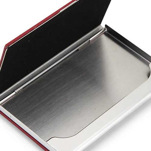 PU Leather Excutive Business Card Holders Image 4