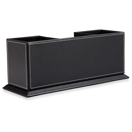 Multi-Function Leather Pen Holder Image 4