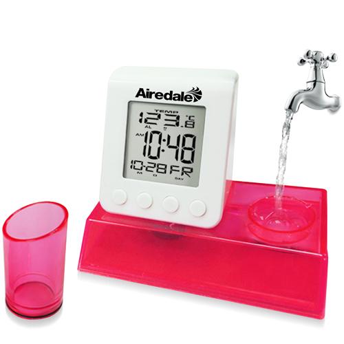 Digital Water Power Calendar Clock