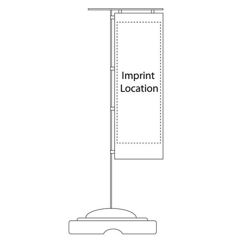 Telescopic Advertising Flag Pole
