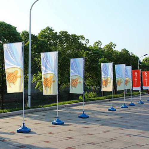 Portable Water Base Road Flag