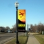 Polyester Rectangle Street Pole Banner