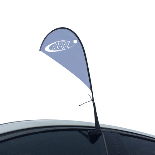 Teardrop Car Window Flag