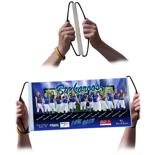Hand-Held Rolla Banner