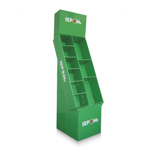 Cardboard Floor Display Stand
