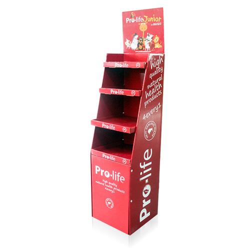 Cardboard Shelf Display
