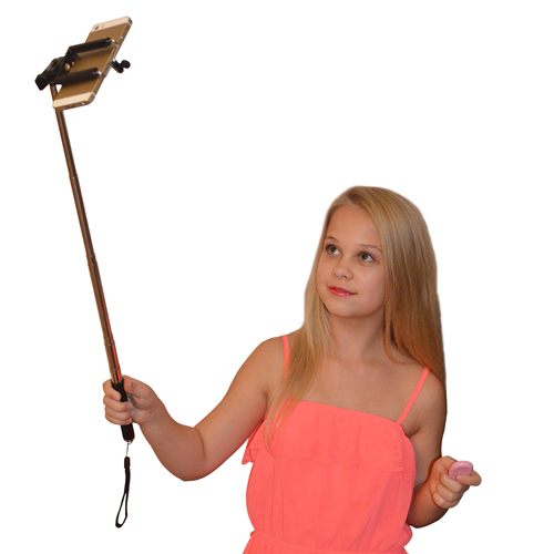 Extendable Selfie Stick with Bluetooth Remote Image 10