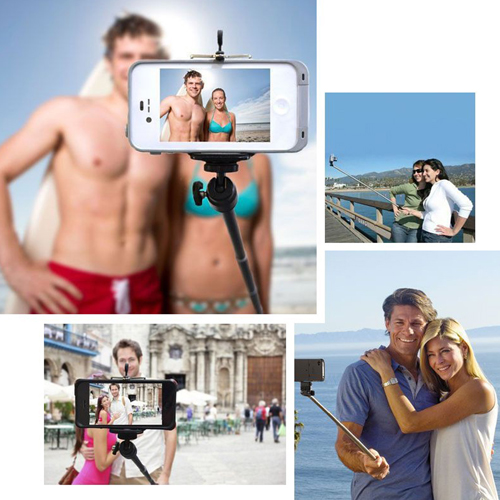 Extendable Selfie Stick with Bluetooth Remote Image 11