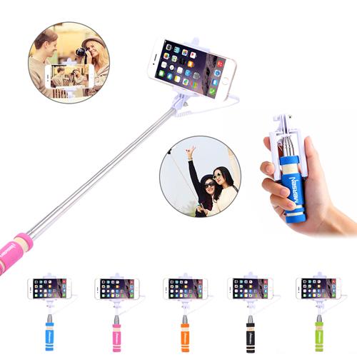Super Mini Extendable Selfie Stick Image 1