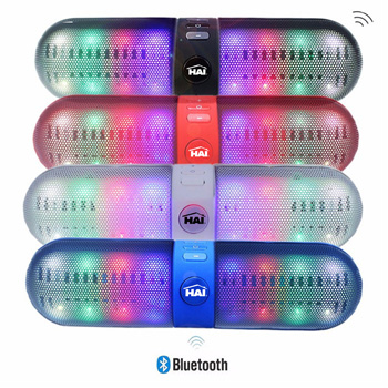 Capsule Shaped LED Bluetooth Speaker