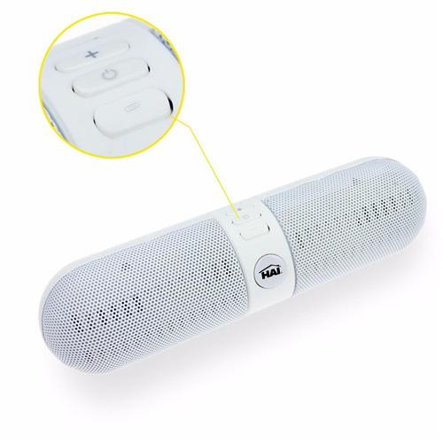 Capsule Shaped LED Bluetooth Speaker Image 3