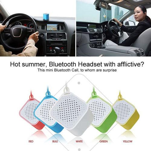 Anti-Lost Mini Square Bluetooth Speaker Image 1