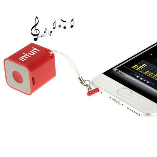 Anti-Lost Mini Square Bluetooth Speaker Image 2