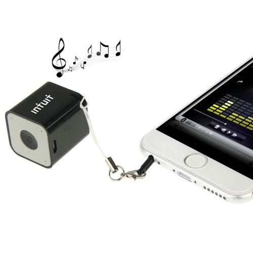 Anti-Lost Mini Square Bluetooth Speaker Image 4