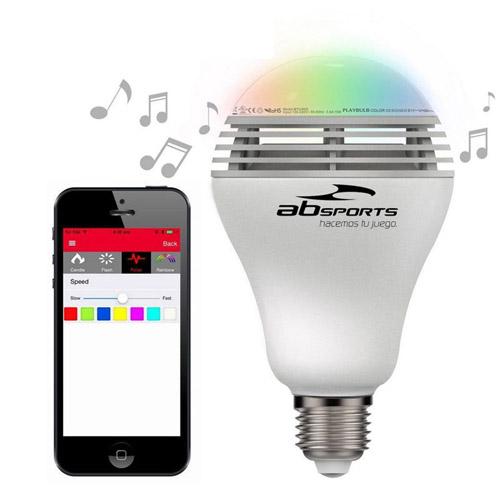 LED Bulb Wireless Bluetooth Speaker