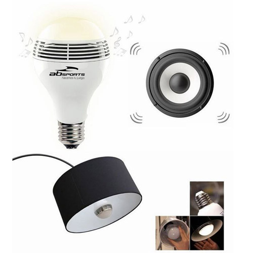 LED Bulb Wireless Bluetooth Speaker Image 1