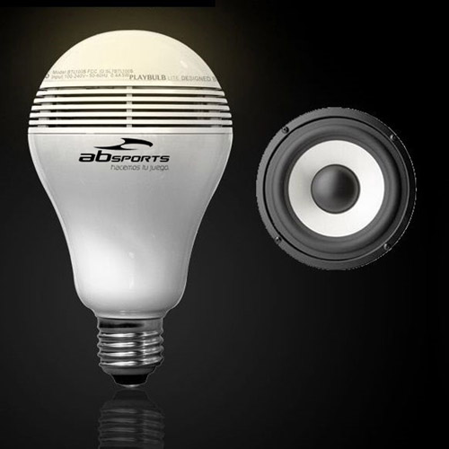LED Bulb Wireless Bluetooth Speaker Image 2