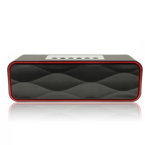Rectangle Mini Wireless Bluetooth 4.0 Speaker Image 1