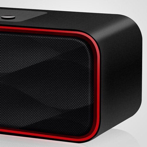Rectangle Mini Wireless Bluetooth 4.0 Speaker Image 5