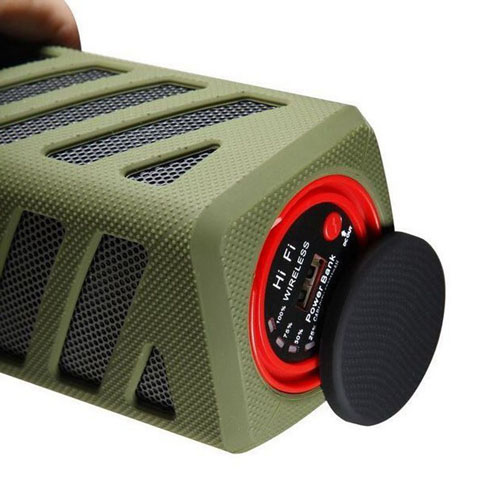 Bluetooth 4.0 Wireless Speaker With Power Bank