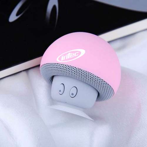 Mushroom Bluetooth Speaker With Suction Cup Image 2