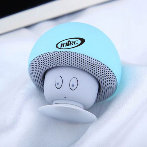 Mushroom Bluetooth Speaker With Suction Cup Image 3
