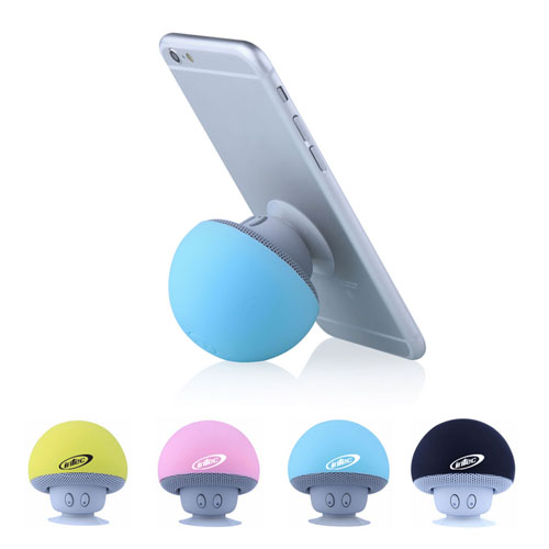 Mushroom Bluetooth Speaker With Suction Cup Image 5