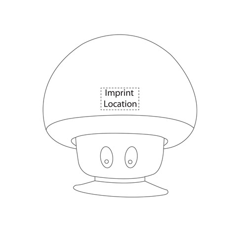 Mushroom Bluetooth Speaker With Suction Cup Image 6