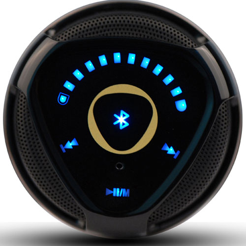 2.0  Stereo Touch Control Led Bluetooth Speaker Image 3