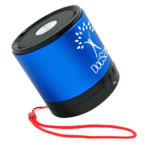 Compact Bluetooth Speaker With Microphone Image 1