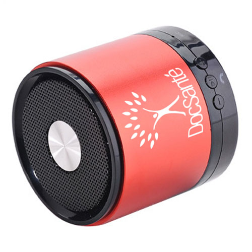 Compact Bluetooth Speaker With Microphone Image 3