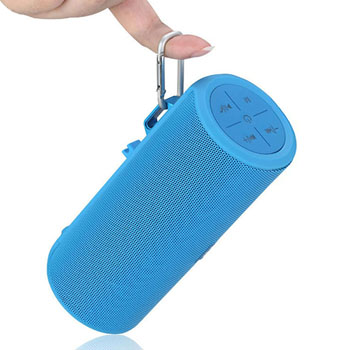 Outdoor Cylindrical Shaped Wireless Bluetooth Speaker