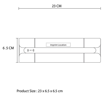 Tumbler NFC Bluetooth Speaker With FM Radio