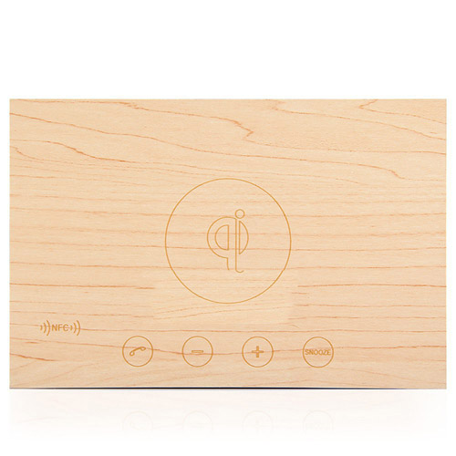 Wooden Standard Wireless Bluetooth Speaker Image 4