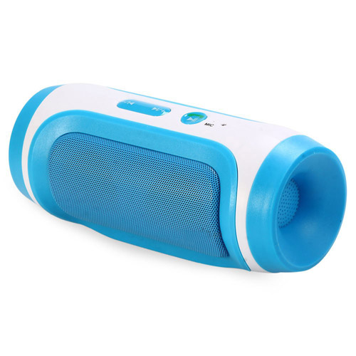 Elliptical Round Wireless Bluetooth Speaker Image 4