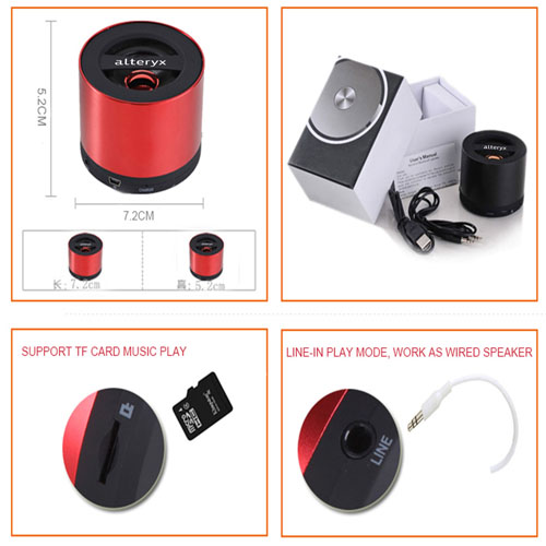 Wireless  Smart Voice Portable Bluetooth Speaker Image 4
