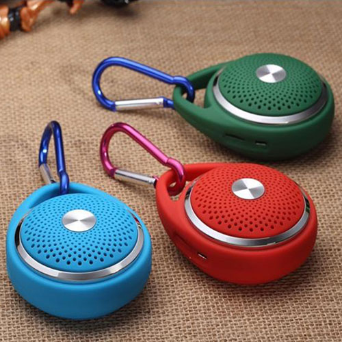 Outdoor  Round Hanging Wireless Bluetooth Mic  Speaker  Image 2