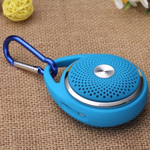 Outdoor  Round Hanging Wireless Bluetooth Mic  Speaker  Image 4