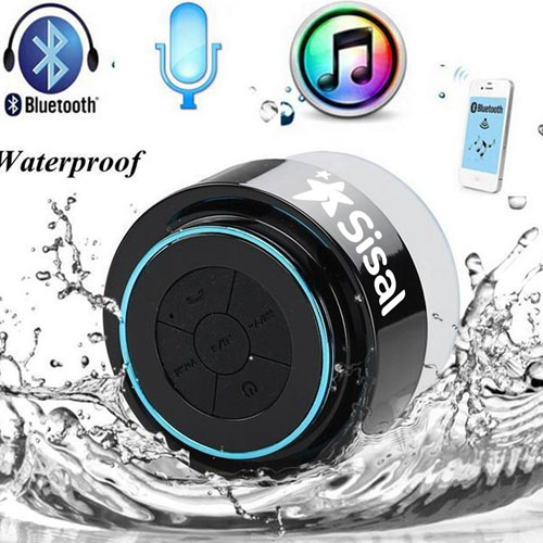Floating Waterproof Bluetooth Speaker With Suction Cup