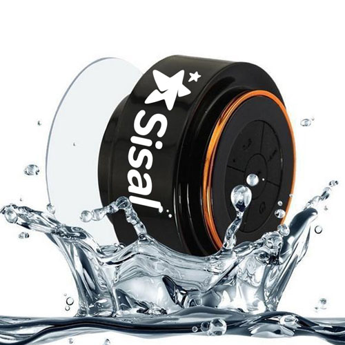 Floating Waterproof Bluetooth Speaker With Suction Cup Image 3