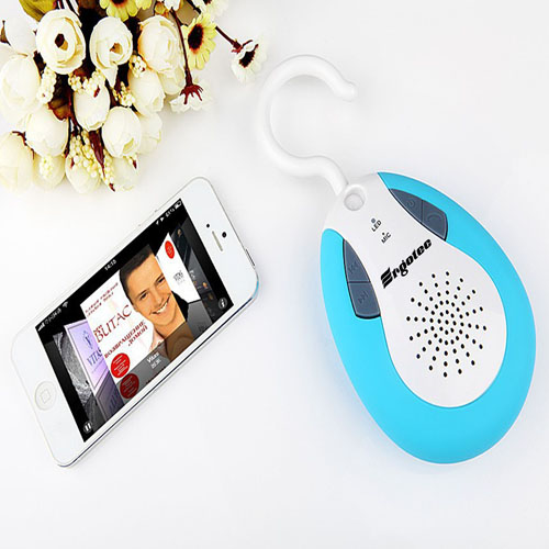 Waterproof Bluetooth Shower Speaker With Hook Image 9