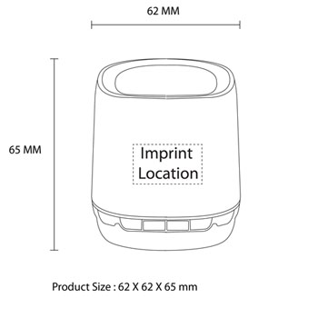 Portable Wireless Bluetooth Turbo Bass Mini Speaker