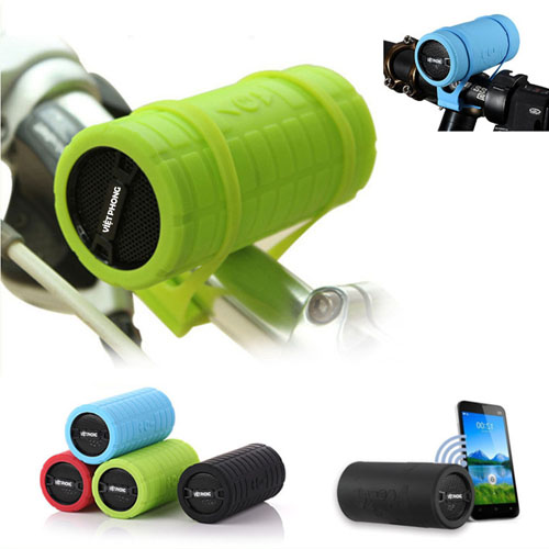 Cycling Round Silicone Strap Wireless Bluetooth Speaker