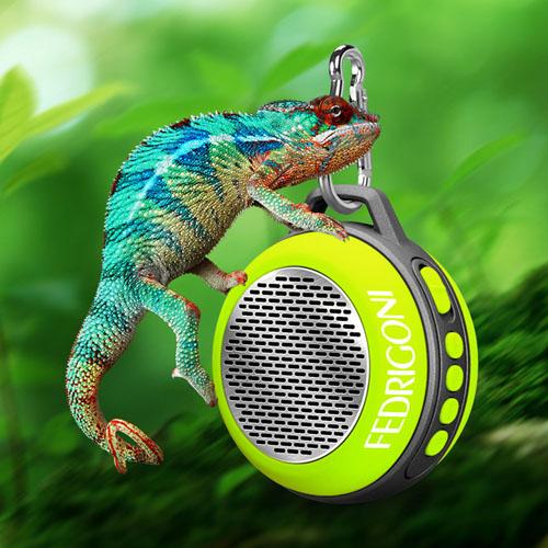Clip On Mini Wireless Bluetooth Portable Speaker