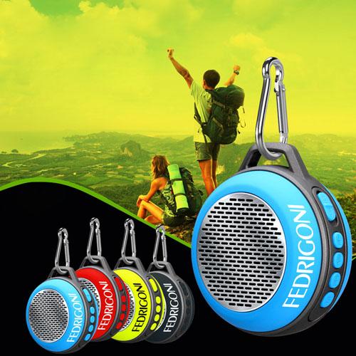 Clip On Mini Wireless Bluetooth Portable Speaker Image 1