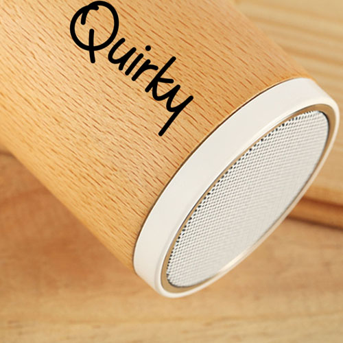 Portable Wooden Round Bluetooth 3.0 Speaker Image 9