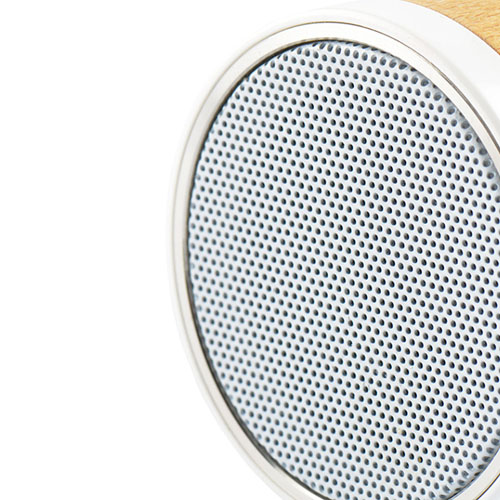 Portable Wooden Round Bluetooth 3.0 Speaker Image 6